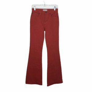 👖BOGO NWT Madewell Flea Market Flare Red Size 26